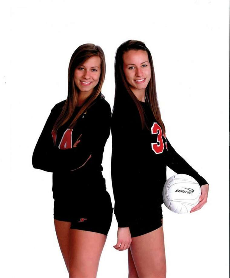 Kate, left, and Vic Pretty of Dow High.
