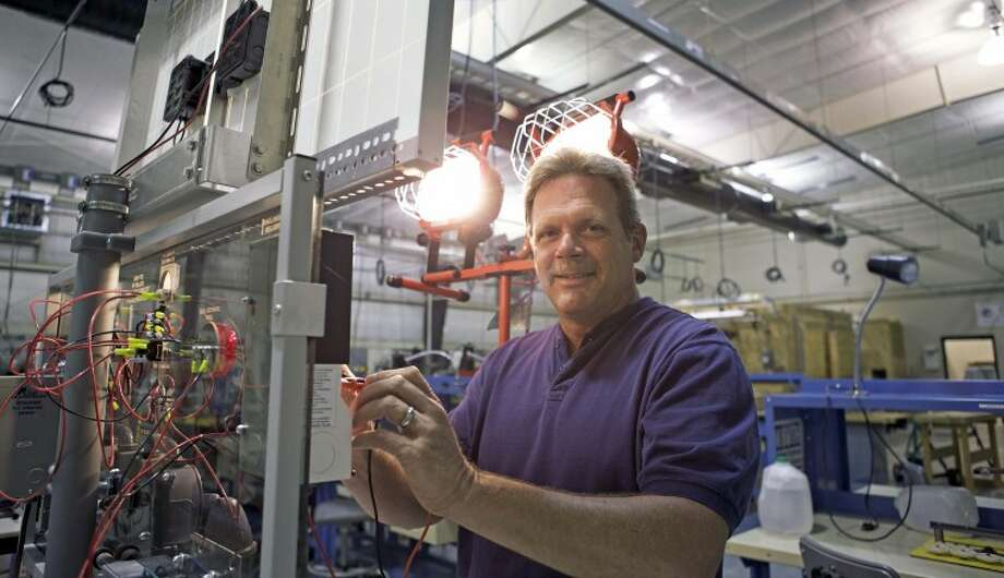 Photo providedMid Michigan Community College student Brian Miller of Gladwin is the first student to complete the college's alternative energy technician program.