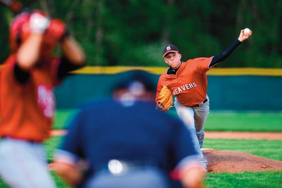 Daily News file photoLefthander Ryan Longstreth, shown pitching in the Division 3 state quarterfinals with Beaverton High School in 2008, became the first Beaverton graduate to be drafted by Major League Baseball when the Detroit Tigers drafted him on Wednesday.