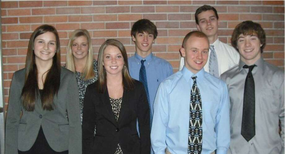 Photo providedMembers of the Midland High School chapter of DECA who qualified for state competition are pictured.