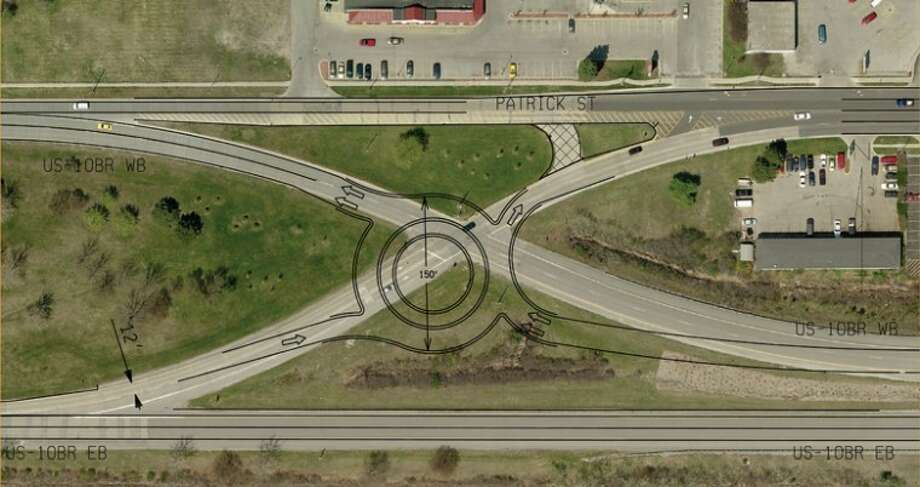 Photo providedAn artist's conception of what the proposed roundabout would look like in Midland.