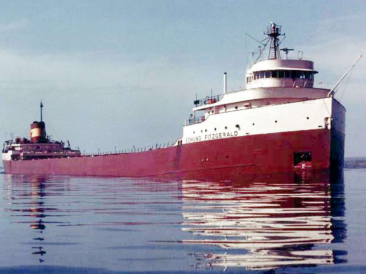 The American Great Lakes freighter, SS Edmund Fitzgerald.