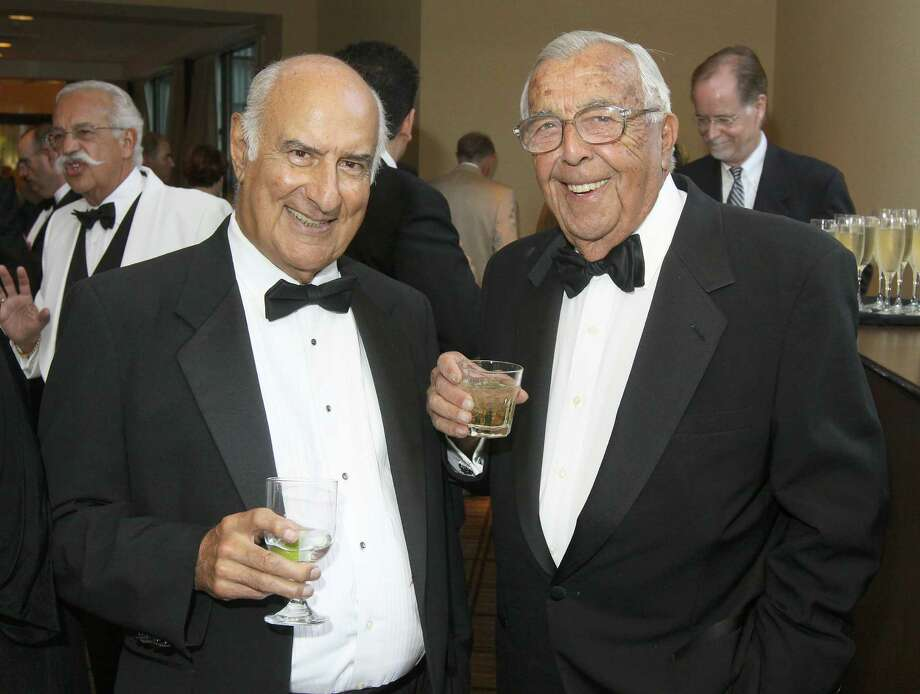 Dr. Anthony Tartaglia, left, is shown with Anthony Giordano during the 2012 Saratoga Opera Ball to benefit Opera Saratoga in Saratoga Springs. (Joe Putrock/Special to the Times Union) Photo: Joe Putrock / Joe Putrock