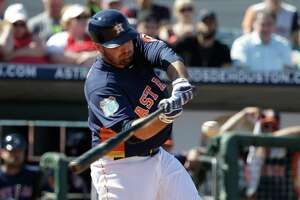 Astros first baseman Tyler White is turning heads with his hitting this spring.