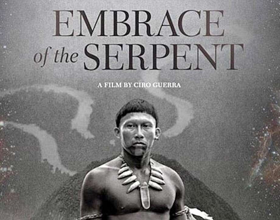 "The new movie, ""Embrace of the Serpent,"" chronicles the impact on Colombia's indigenous tribes of 19th and 20th century industry and culture. Photo: Contributed / Contributed Photo / Westport News"
