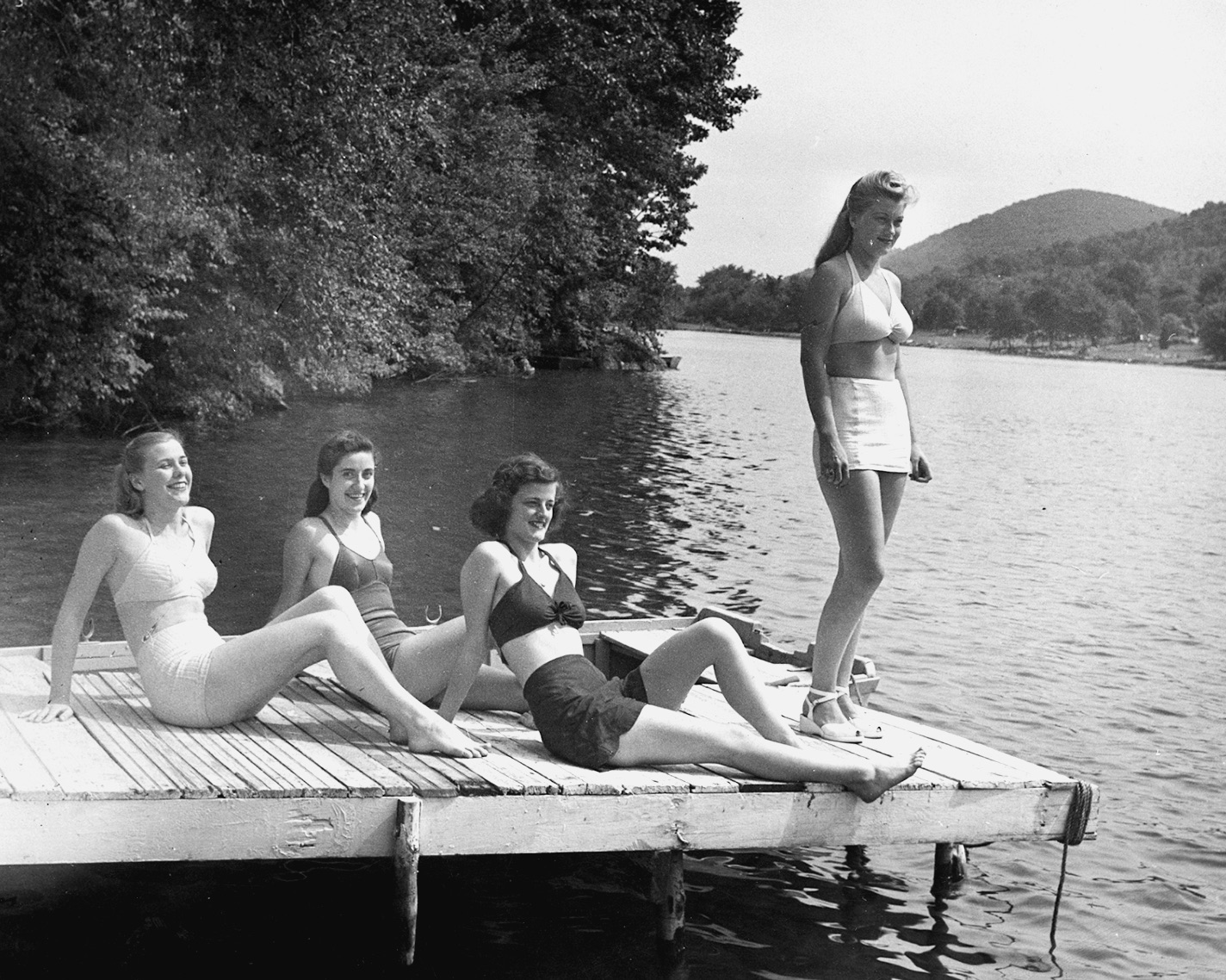 Vintage photos of Candlewood Lake