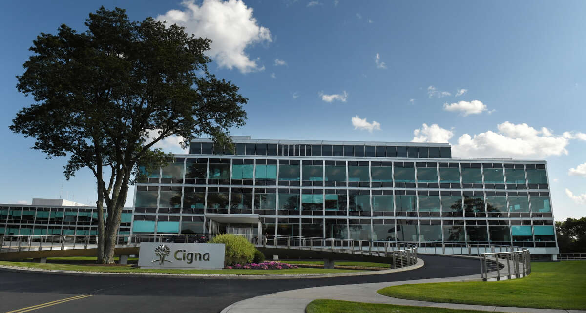 This July 23, 2015 photo shows the CIGNA corporate campus in Bloomfield. Cigna's proposed merger with felllow insurance giant Anthem Blue Cross Blue Sheild has created controversy among consumer advocates in the state.