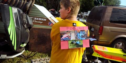 Snowmobile Swap & Show brings out the stories - Midland