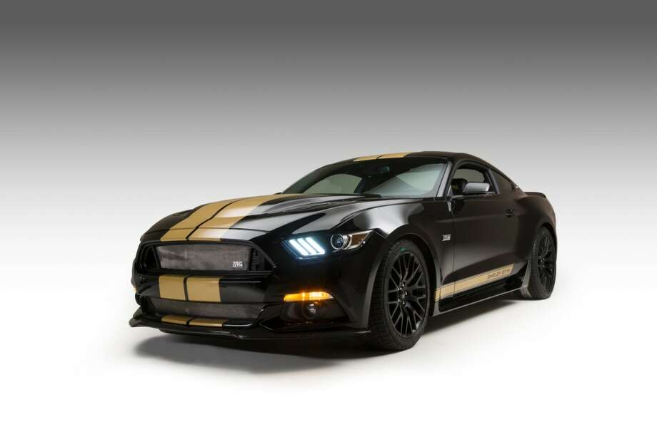 "Shelby GT-H celebrates 50th anniversary with the Ford ShelbyHertz GT350-H ""Rent-A-Racer."" Photo: Ford"