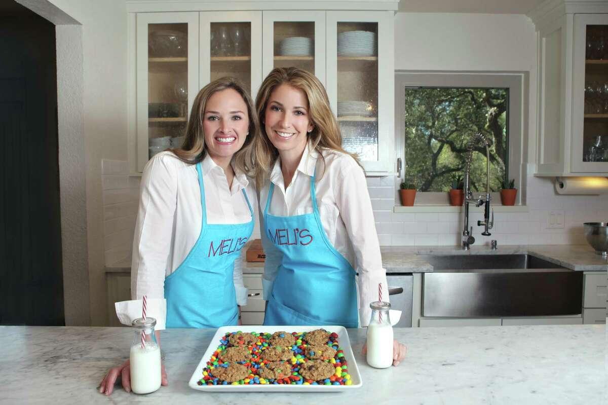 Meli's Monster Cookies founders Melissa Mehal (left) and Melissa Blue