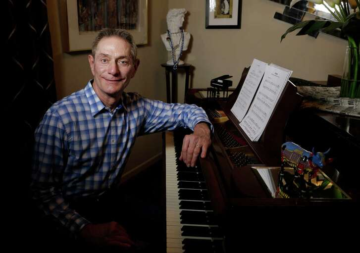 Roger Woest raises money for various causes with his series of Caring Cabaret musical events.