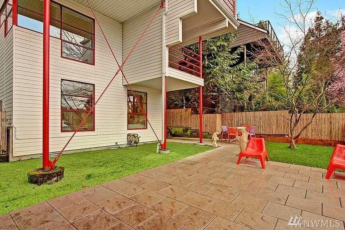 The backyard of 640 32nd Ave. E.