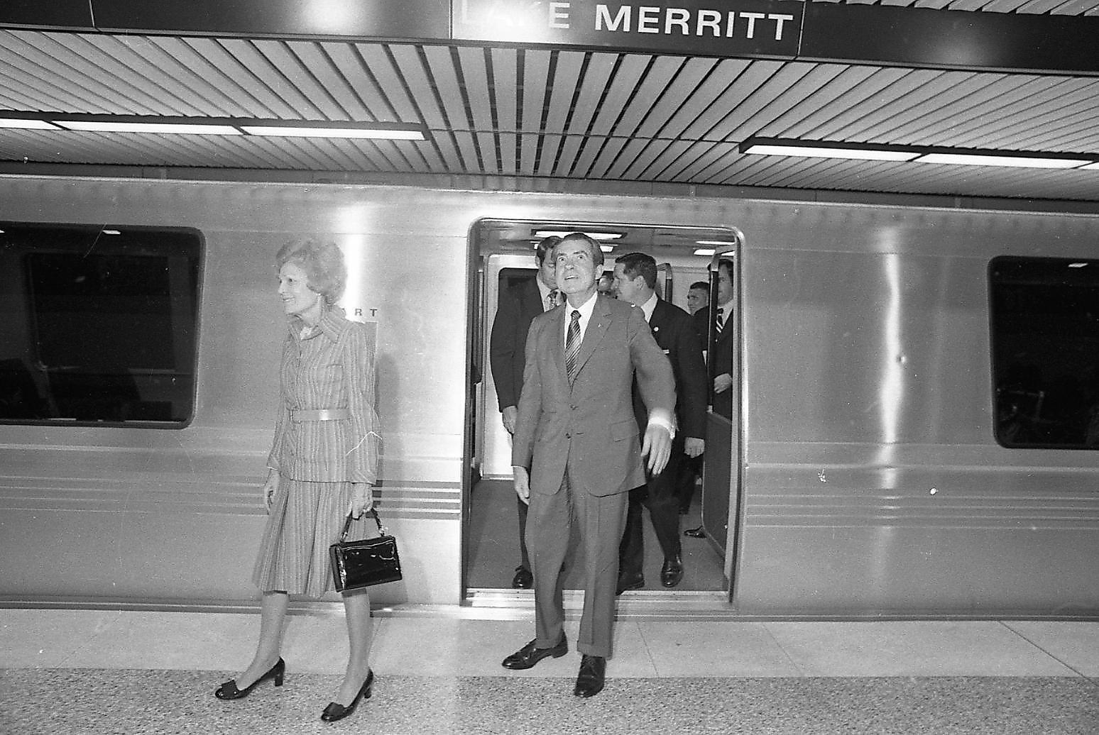 Broadway Ford Green Bay >> The shiny, futuristic BART that wowed President Nixon ...