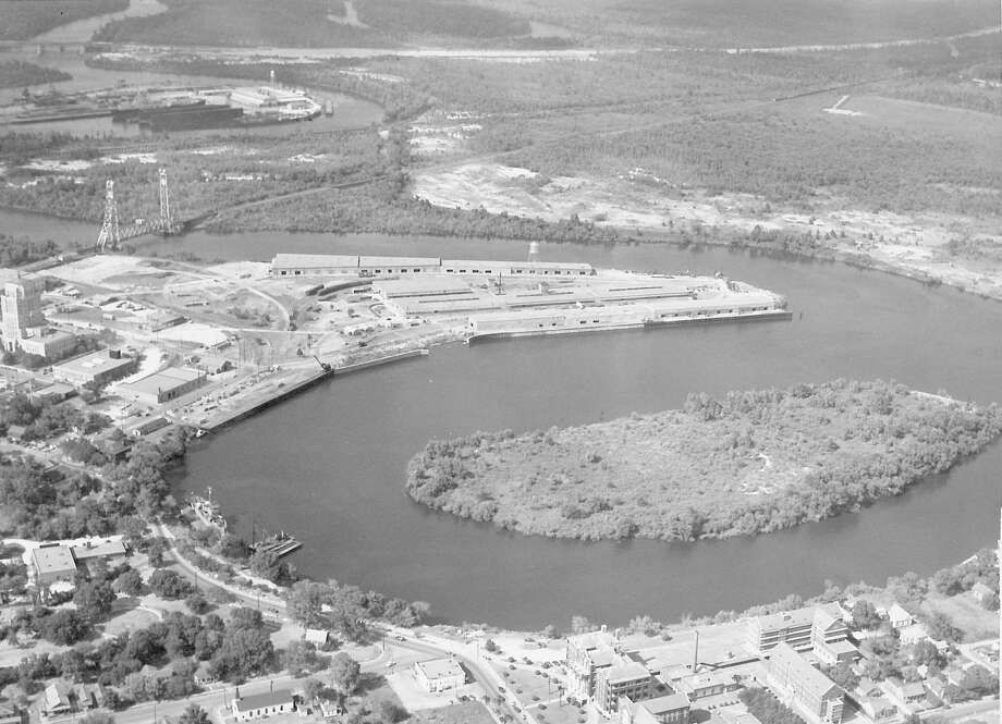 The Port of Beaumont celebrates its centennial in March 2016. Undated photo Photo: Enterprise File