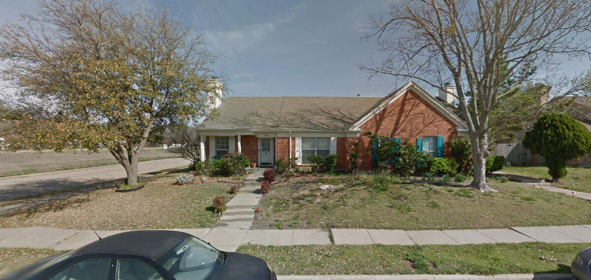 A demolition company mistakenly tore down the wrong tornado-damaged duplex (pictured) in Rowlett, according to reports.
