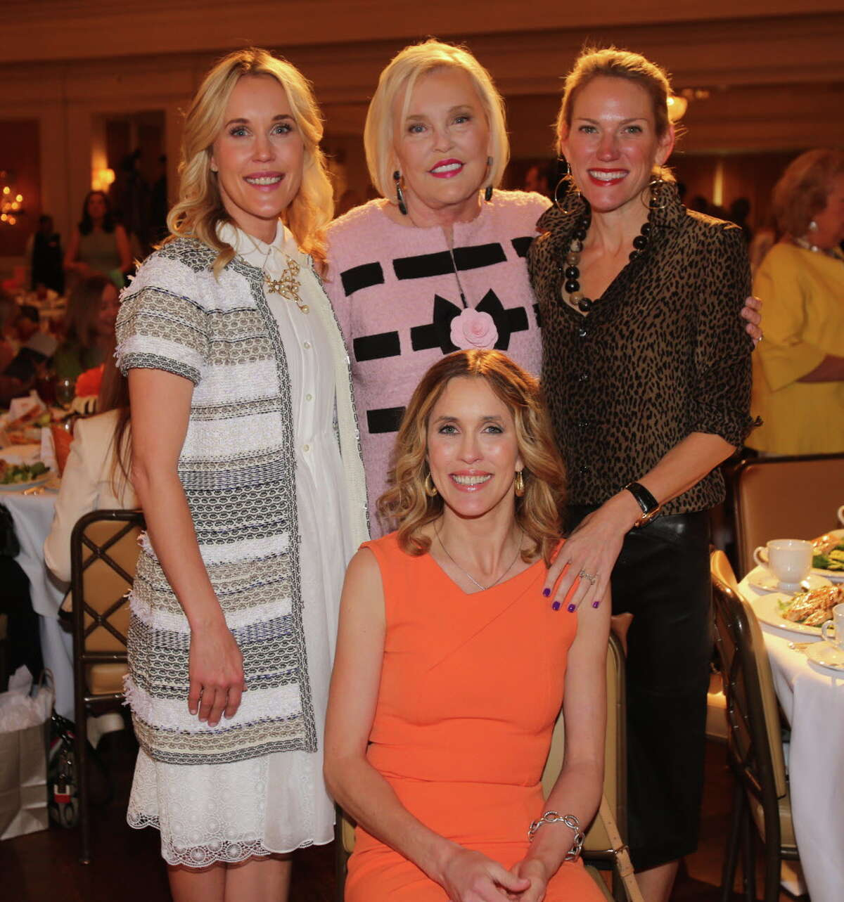 Amanda Chipman, Sharon Wilson, Erin Maggi, and Wendy Bedortha at the 11th annual MS on the Move luncheon.
