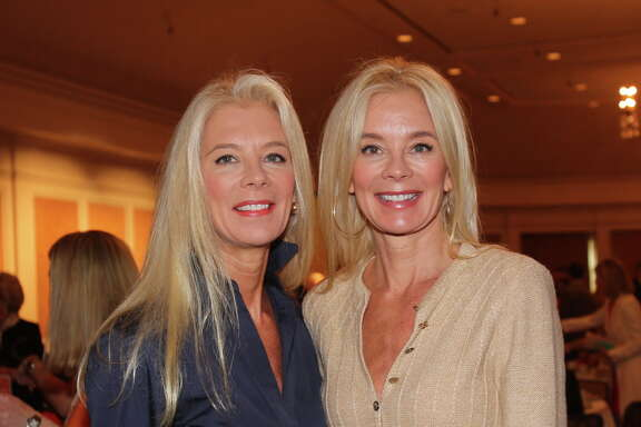 Tama Lundquist and Tena Lundquist Faust at the 11th annual MS on the Move luncheon.