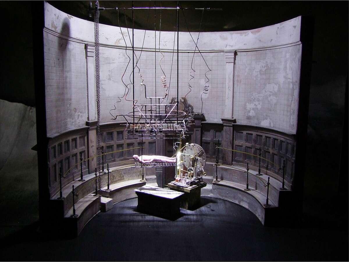 Set designs by John MacFarlane for Liam Scarlett's Frankenstein. Credit: Courtesy The Royal Ballet