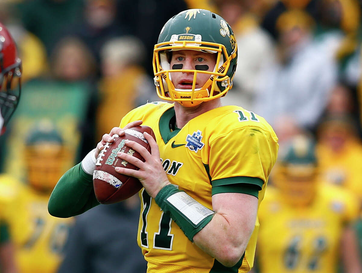 2. CLEVELAND BROWNSQB Carson Wentz, North Dakota St.Previous pick: WentzNotes: Despite Thursday's signing of Robert Griffin III, the Browns and new head coach Hue Jackson need a franchise quarterback. Wentz, who has a better arm and upside than Cal's Jared Goff, should be the guy.