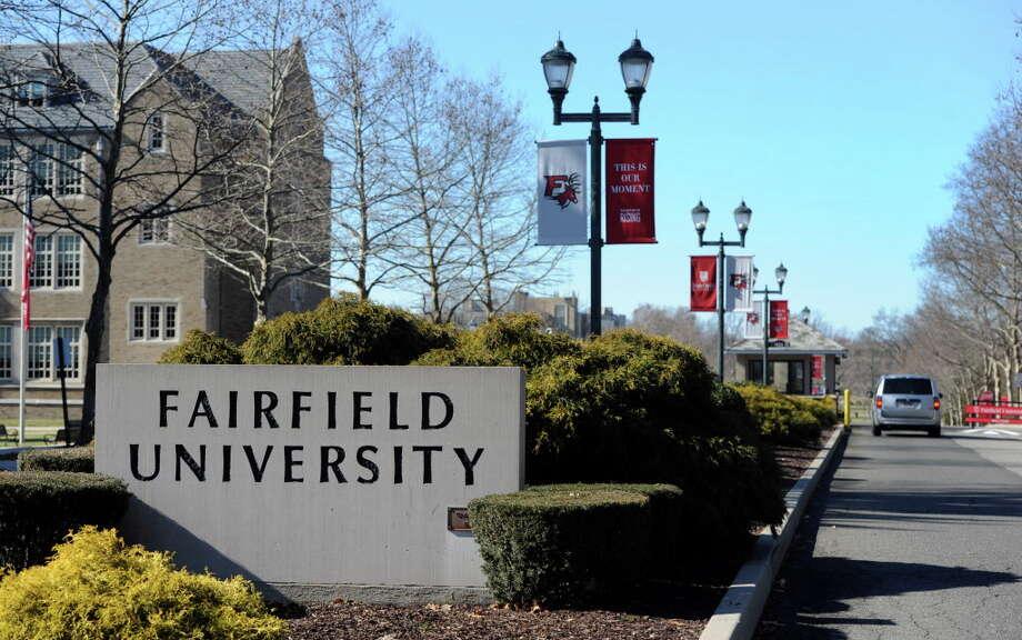 Fairfield University campus in Fairfield, Conn. Photo: Cathy Zuraw / Hearst Connecticut Media / Connecticut Post