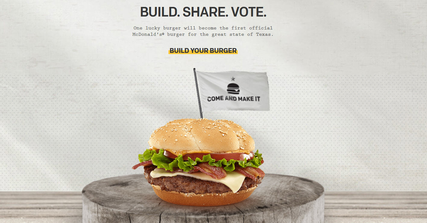 McDonald\'s wants us to design a Texas burger - Houston Chronicle