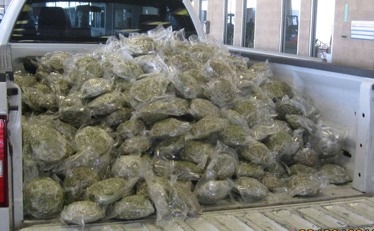 U.S. Customs and Border Protection agents found about $153,000 worth of marijuana on March 22 in Pharr.
