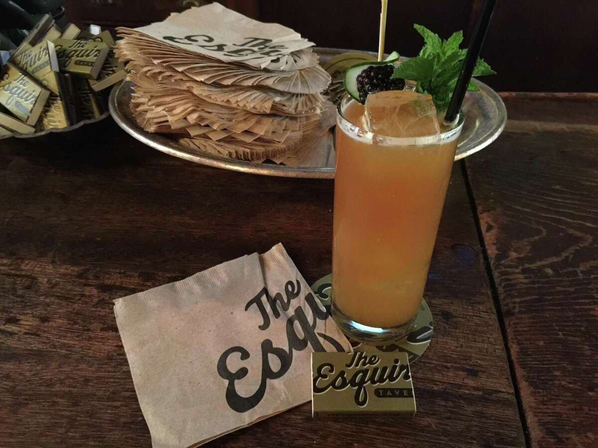 The Esquire Tavern's Pimm's Cup