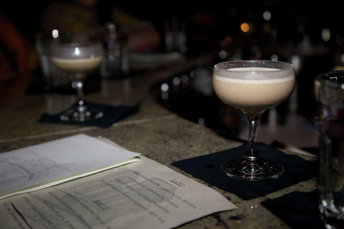 The bar at Park Social.