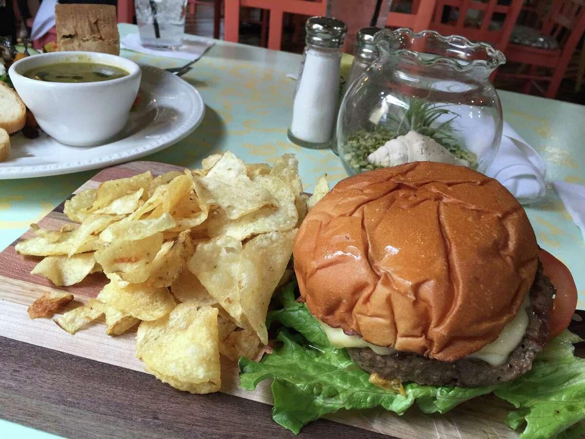 Bread Box Burger at The Bread Box