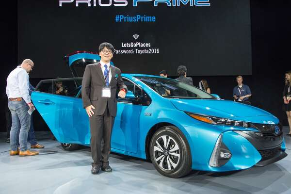 The 2017 Toyota Prius Prime debuted at the March 2016 New York Auto Show.