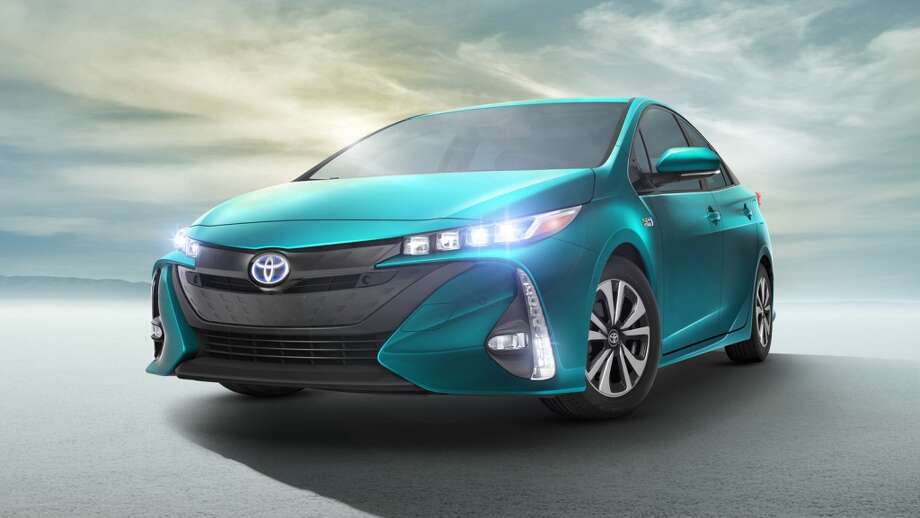 The 2017 Toyota Prius Prime debuted at the March 2016 New York Auto Show. Photo: Toyota USA Newsroom
