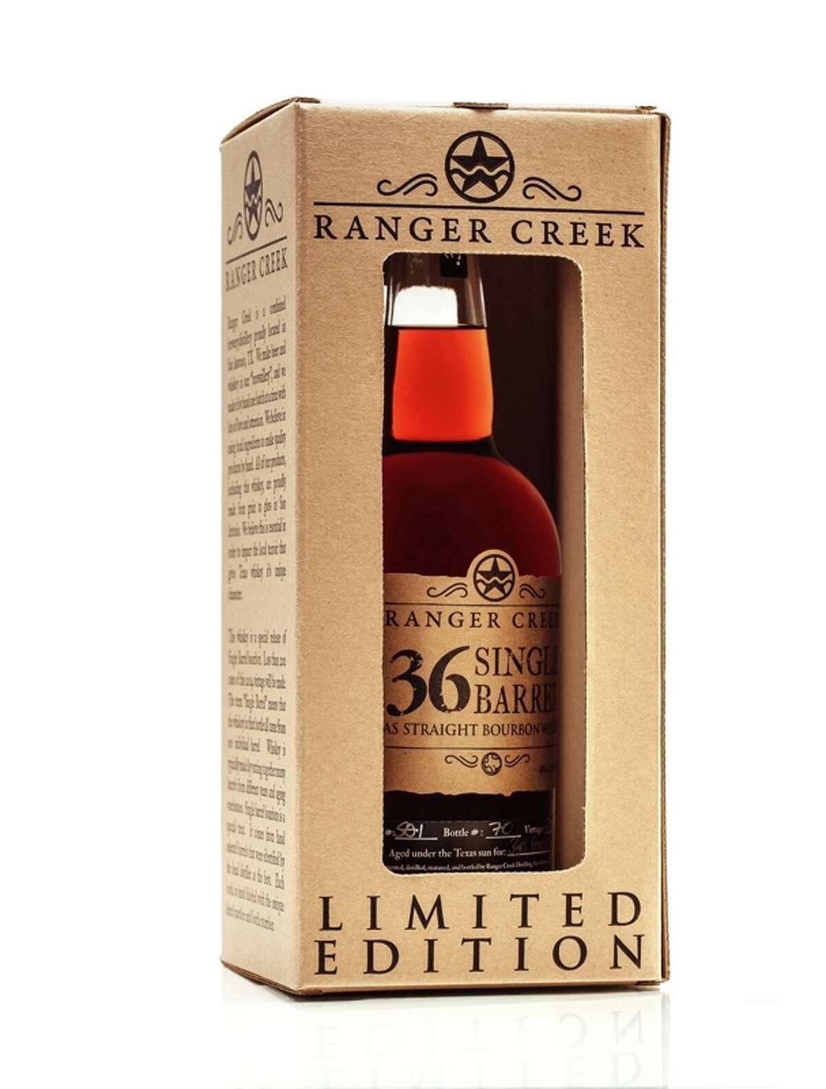 5-year-old Ranger Creek .36 Single Barrel Texas Bourbon
