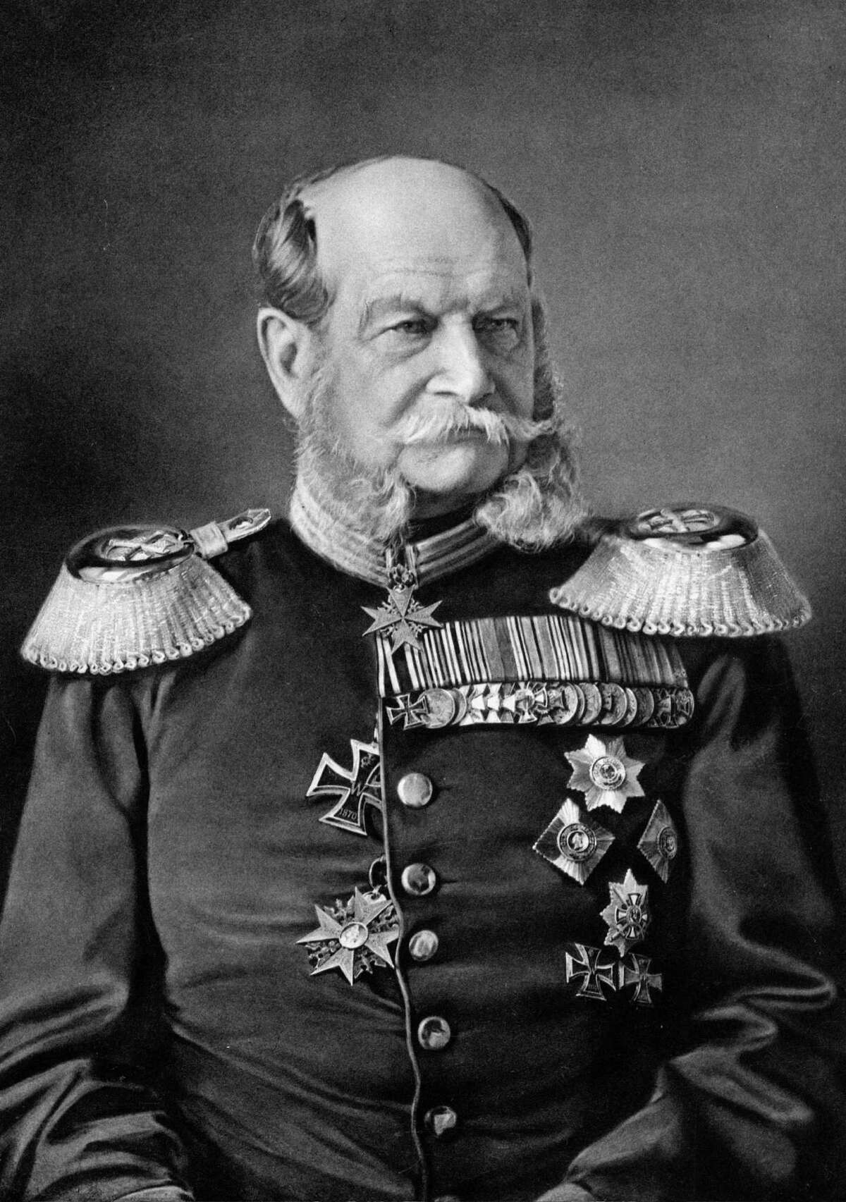 3. The area developed as the King William district when Ernst Altgel, a German immigrant who later became a businessman in San Antonio, named its main street after King Wilhelm I (pictured above), the king of Prussia in the 1870, according to the Texas State Historical Association.