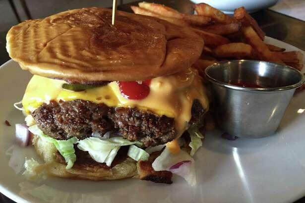 Traphouse Cheddar Burger