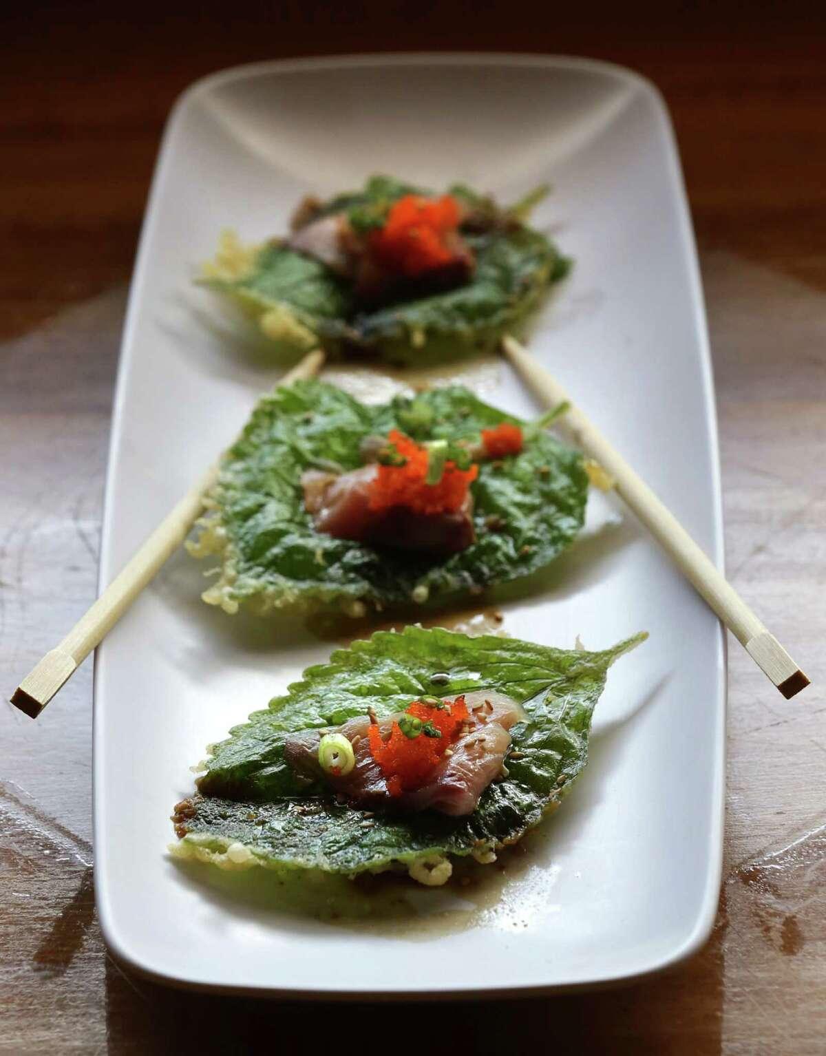Fried Perilla Leaf