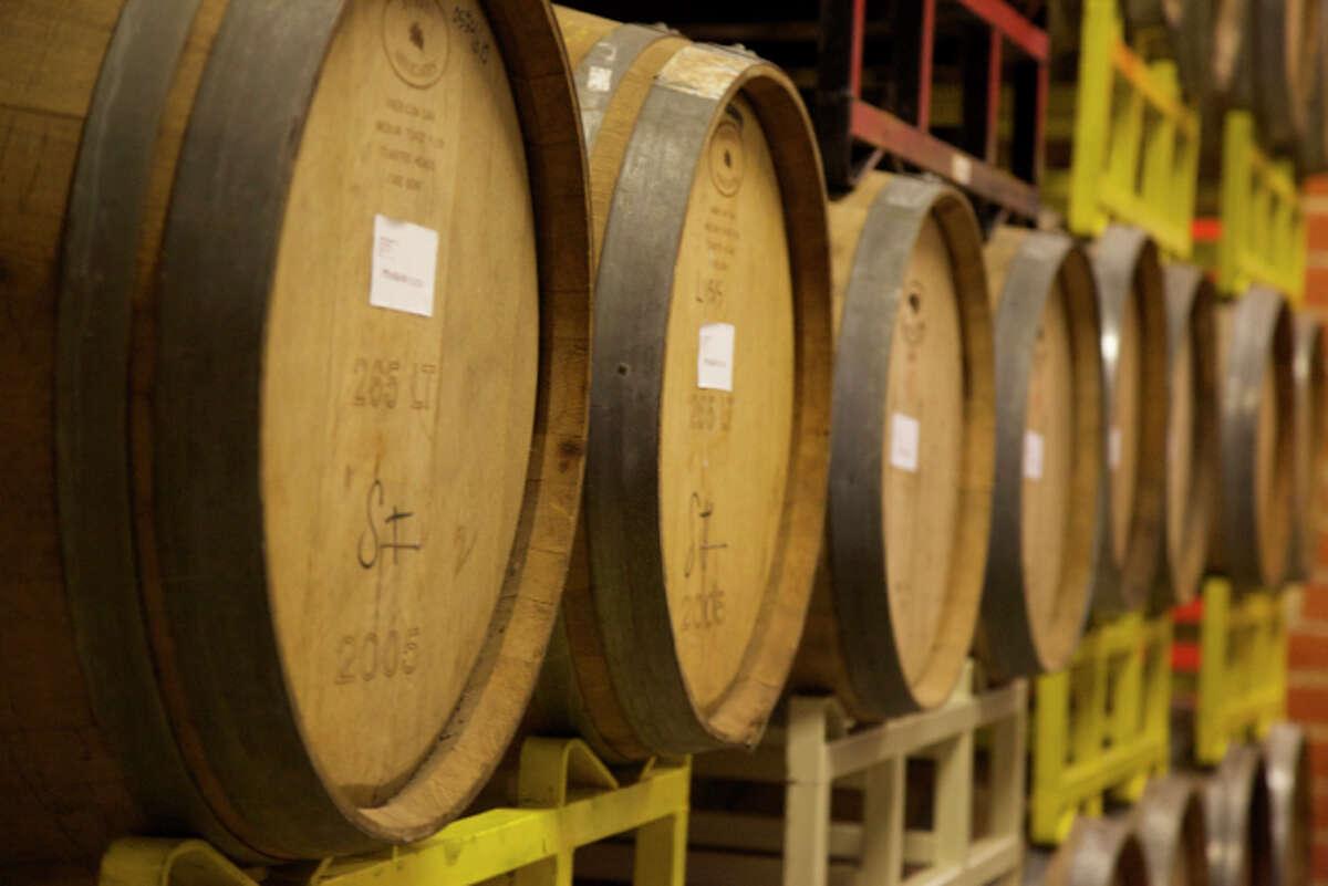 Barrels at Freetail.