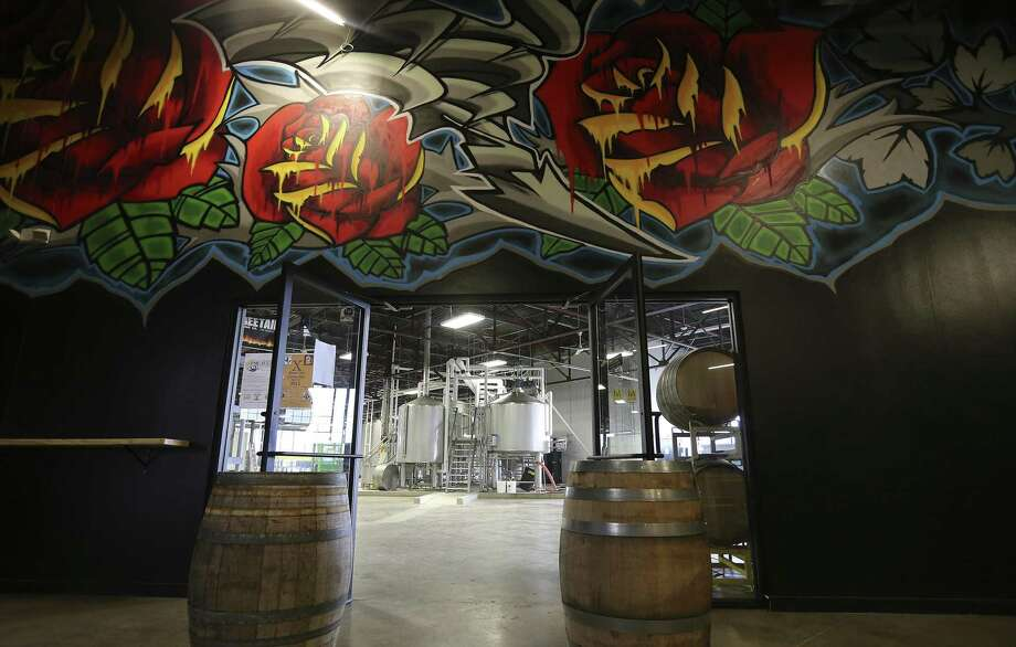 The Freetail Brewing Co. is hosting a River City Wrestling event on Jan. 4 inside its main brewing area of the tasting room facility located at 2000 S. Presa St. in Southtown. Photo: Kin Man Hui /Staff Photographer / ©2015 San Antonio Express-News