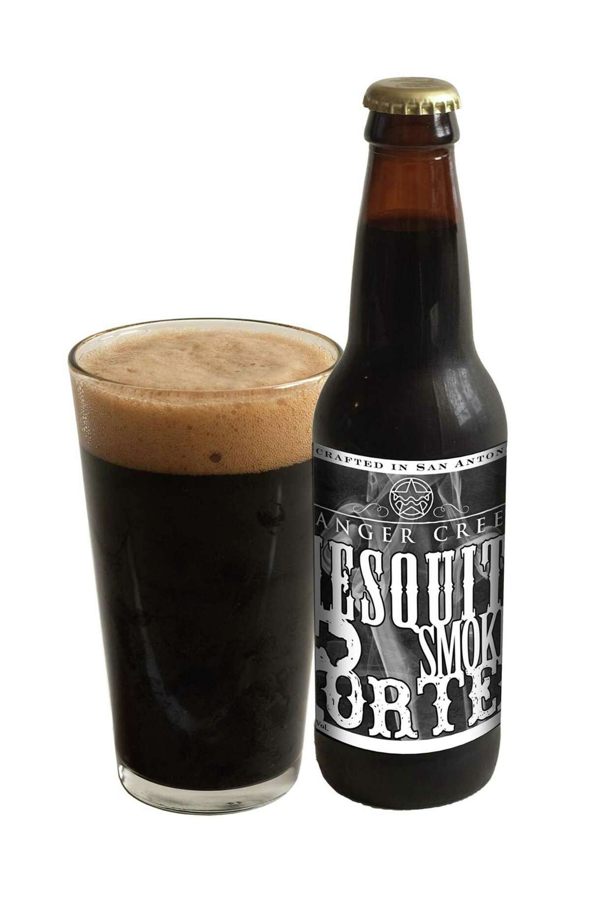 Mesquite Smoked Porter is one of Ranger Creek Brewing & Distilling's four initial beers.