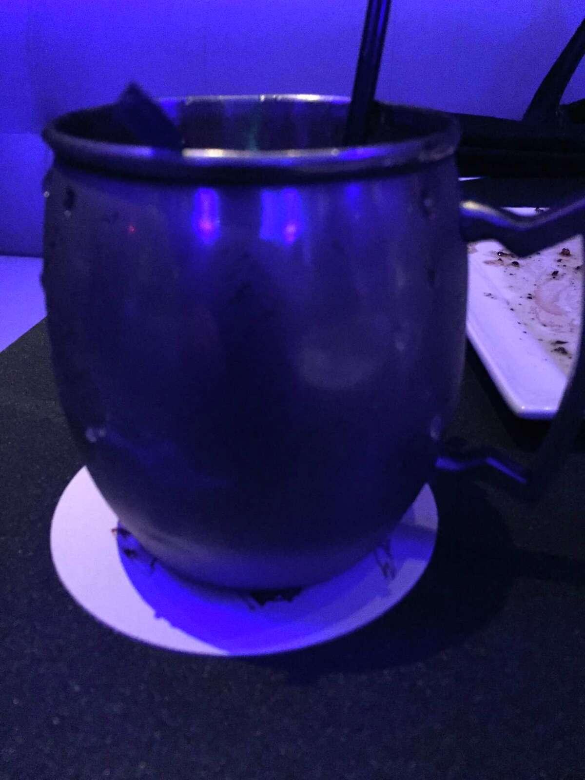 Pride: Rebecca Creek whiskey, apricot liqueur, lemon and mint