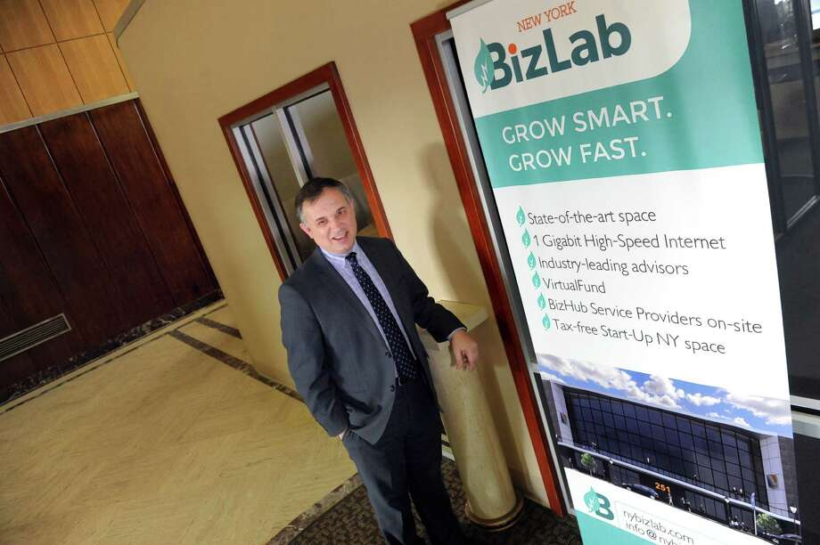 Rick D'Errico, managing director of BizLab, an incubator space for new startup businesses, on Tuesday, March 1, 2016, in Schenectady, N.Y. (Cindy Schultz / Times Union) Photo: Cindy Schultz / Albany Times Union