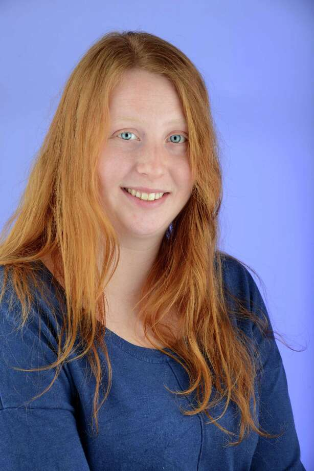 """Margaret Young, Ski/Snowboard Instructor, Troy: """"I have a weird bond with other redheads. I've always had good friends who were redheads, because it's something we immediately have in common. We might have been friends anyway, but I think it's the red hair."""" Photo: Will Waldron / 10035387A"""