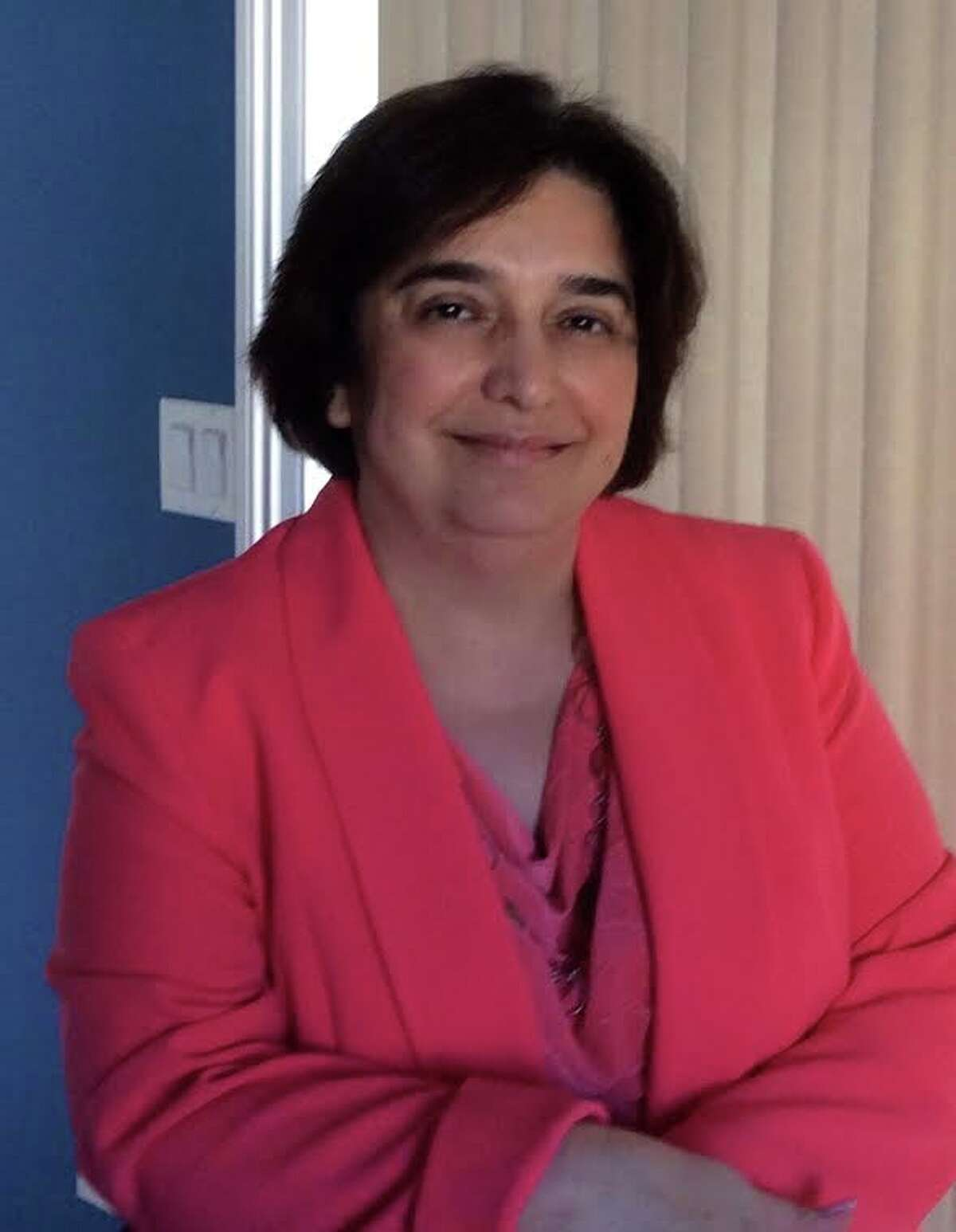 Fran Kompar, the Greenwich school district's library media services coordinator.