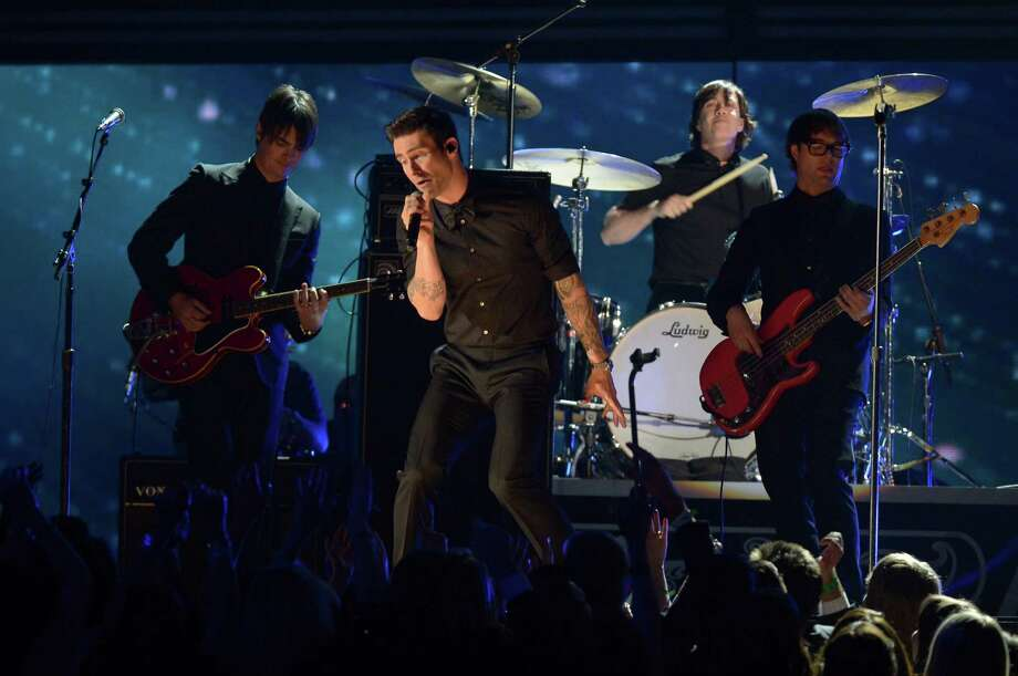 Maroon 5 will play the Capital One Jamfest, set for 3-10 p.m. April 1. Photo: JOE KLAMAR, Staff / AFP