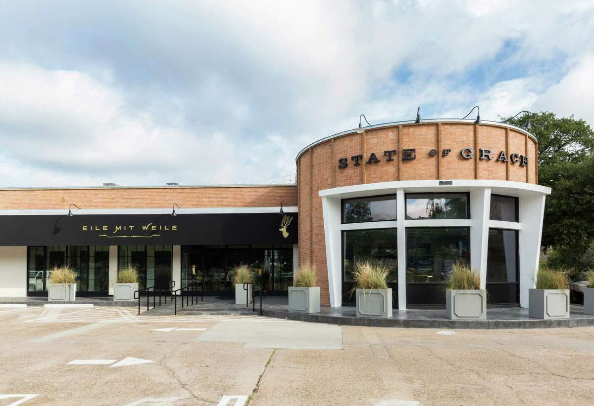 State of Grace, 3256 Westheimer in River Oaks, has been named as one of the