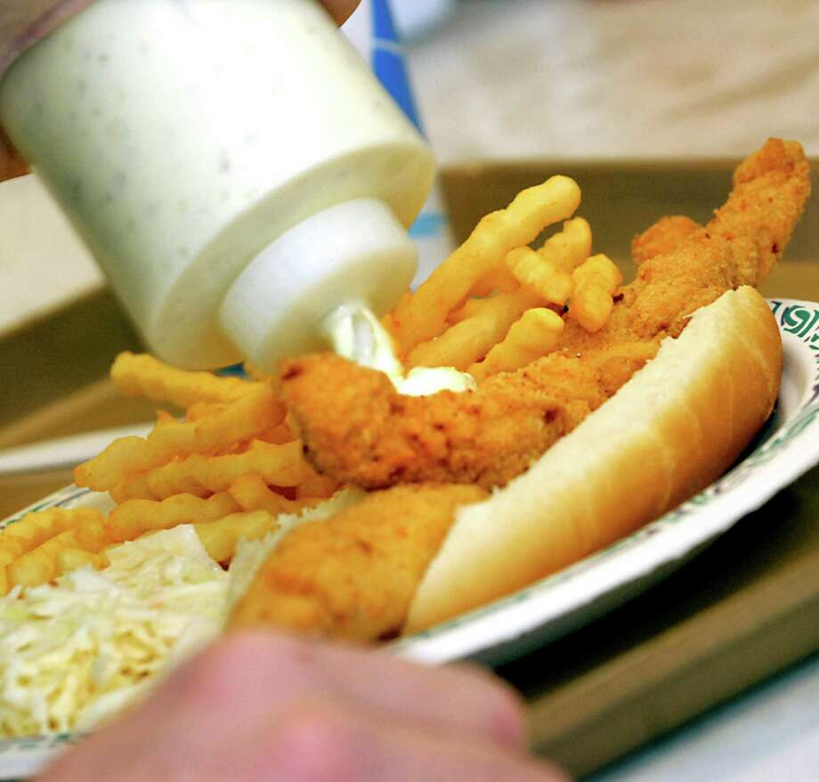 FRIDAY: 'THE KNIGHTS OF COLUMBUS NO. 951 MONTHLY FISH FRY'When: 4:30 p.m. - 7 p.m., Jan. 6Where: KC Hall, 9505 College StreetCost: Dinners are $8Info: 409-866-9390 Photo: CINDY SCHULTZ / ALBANY TIMES UNION