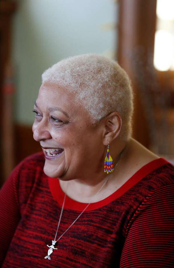 Jewelle Gomez hopes there's a new audience for her stories now that vampires are popular. Photo: Leah Millis, The Chronicle