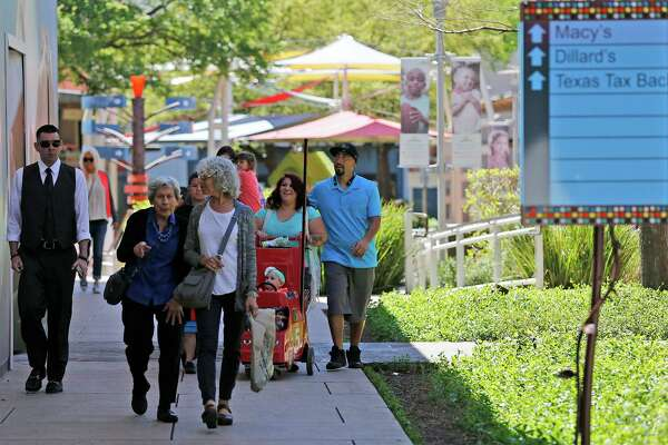 Visitors from Mexico and along the border make their way to San Antonio to shop and vacation during Holy Week or Semana Santa. The Shops at La Cantera was one of many locations for vacationing consumers to seek out as a primary shopping destination in the city.