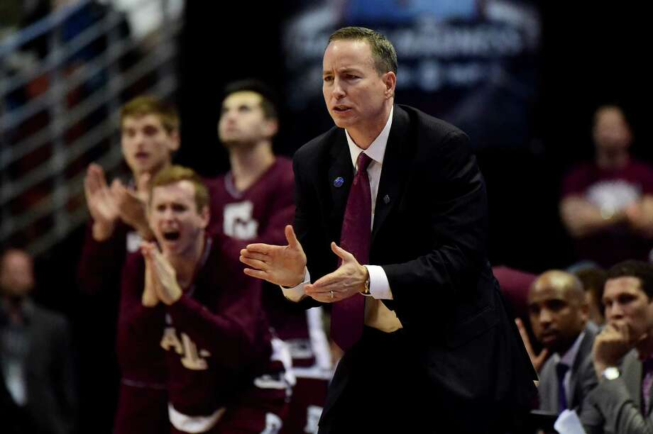 Texas A&M head coach Billy Kennedy will lead his team against Texas in an exhibition game at Rice on Wednesday. Proceeds for the game will go to Hurricane Harvey relief. Photo: Harry How, Getty Images / 2016 Getty Images