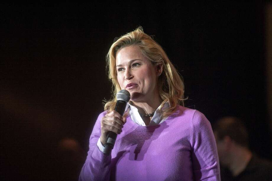 Heidi Cruz, campaigning with her husband Sen. Ted Cruz on Thursday, has become the target of Donald Trump's insults, raising fears among Republicans that the mogul alienates women voters. Photo: Angela Major, MBR / The Janesville Gazette