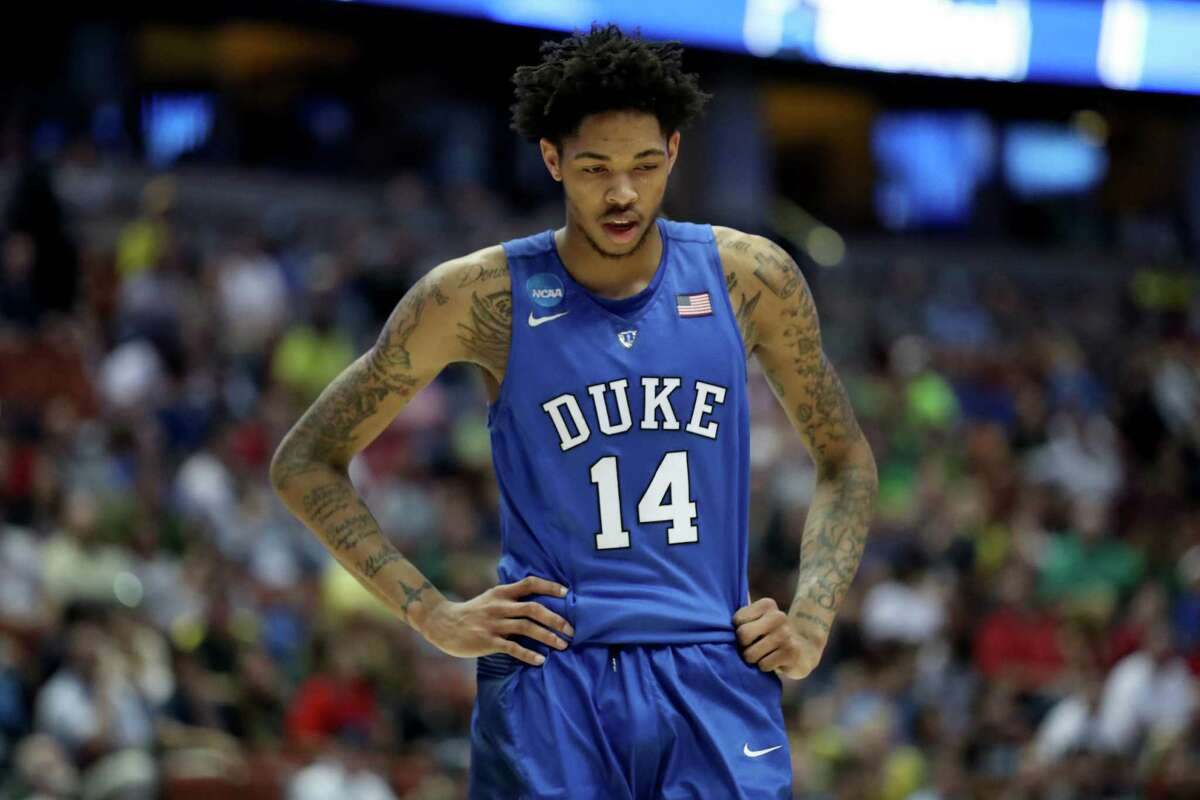 2. Lakers: Brandon Ingram, Duke, SF, 6-9 In a draft with a clear first and second choice, the Lakers will grab Ingram and let the comparisons of the top two players taken begin.